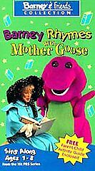 Barney - Barney Rhymes With Mother Goose...