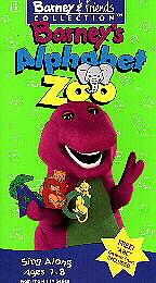 Barney   Barneys Alphabet Zoo (VHS, 199