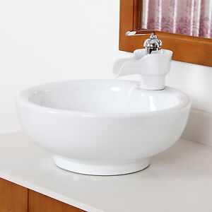 bathroom small cabinet cloakroom vanity unit basin bowl sink