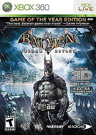 Batman: Arkham Asylum -- Game of the Yea...
