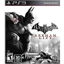 Batman: Arkham City  (Sony Playstation 3...