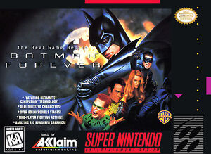 Batman Forever  (Super NES, 1995)