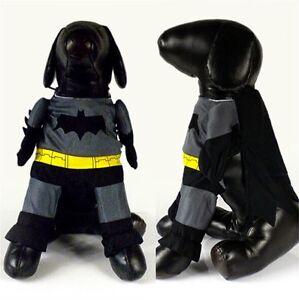 batman kost m f r hunde katze karneval fasching halloween hundeshirt pulli ebay. Black Bedroom Furniture Sets. Home Design Ideas