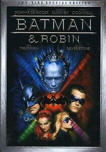 Batman & Robin (DVD, 2005, 2-Disc Set, S...
