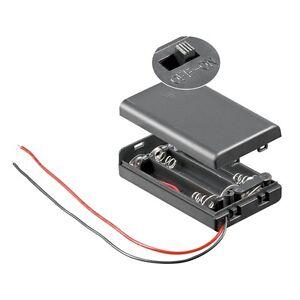 Batteriefach-3x-AAA-EIN-AUS-Schalter-Batteriehalter