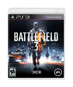 Battlefield 3  (Sony Playstation 3, 2011...