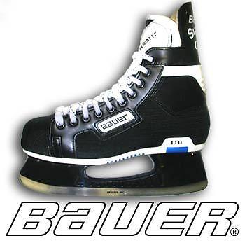 Bauer Supreme Classic 110 Ice Hockey Skates Adult Mens Senior SR Size 6 D New