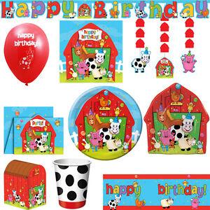 Bauernhof Kindergeburtstag Party Deko Geburtstag