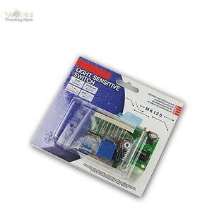 Bausatz-Daemmerungsschalter-12V-DC-regelbar-Daemmerungssensor-Daemmerungschalter
