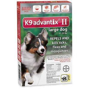 Bayer K9 Advantix 55 For Dogs 21 - 55 lb