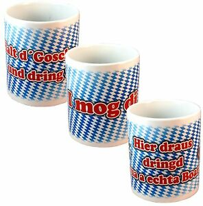 bayern tasse kaffeebecher witzige spr che oktoberfest. Black Bedroom Furniture Sets. Home Design Ideas