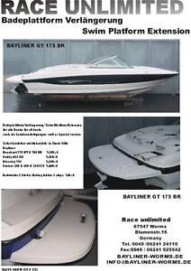 Bayliner-Badeplattform-GFK-mit-Badeleiter