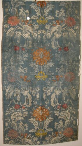 Beautiful Antique 18th C. French Silk Woven Fabric (8331) in Antiques, Linens & Textiles (Pre-1930), Fabric   eBay