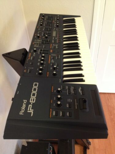 Beautiful Condition Roland JP-8000 Synthesizer in Musical Instruments & Gear, Electronic Instruments, Synthesizers | eBay