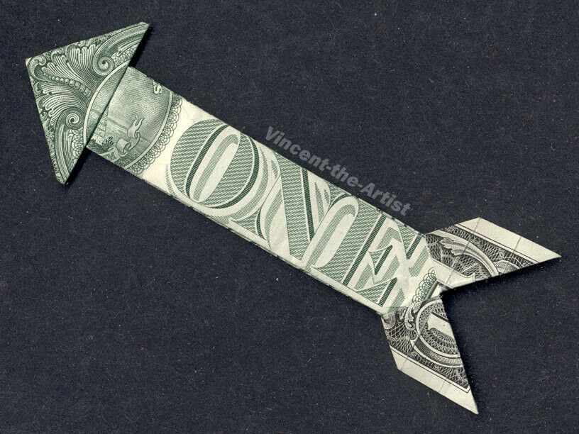 Origami Dollar Bill Guitar