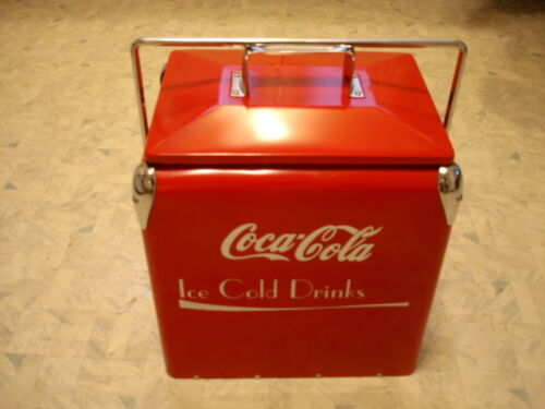 Beautiful Retro 1950's Style Coca Cola Cooler New in Box CHECK IT OUT in Collectibles, Vintage, Retro, Mid-Century, 1950s | eBay
