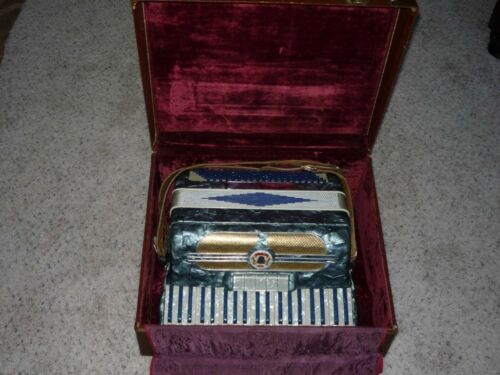 Beautiful Vintage Noble SPECIAL Accordion with case in Musical Instruments & Gear, Accordion & Concertina | eBay