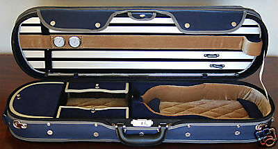 Beautiful deluxe Violin Case size 4/4 Brand NEW L@@K! in Musical Instruments & Gear, Equipment, Cases | eBay