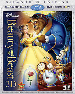 Beauty and the Beast (Blu-ray/DVD, 2011,...