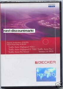 Becker Traffic Assist 7934 7988 7916 PRO EUROPA DVD 3.0