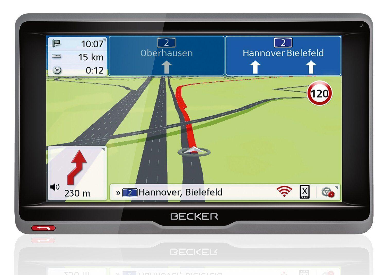"Becker Ready .6l UE plus Navi 6,2/"" 45 países LMU TMC Connect Bluetooth magclick!"