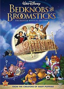 Bedknobs and Broomsticks (DVD, 2001, 30t...