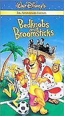 Bedknobs and Broomsticks (VHS, 2001, 30t...