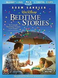Bedtime Stories (Blu-ray Disc, 2009, 3-D...