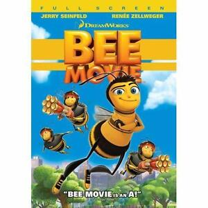 Bee Movie (DVD, 2008, Full Frame)