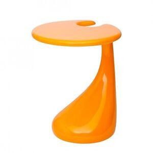 beistelltisch orange hochglanz wohnzimmer couchtisch. Black Bedroom Furniture Sets. Home Design Ideas