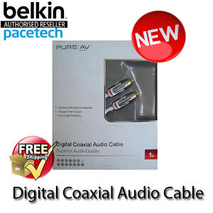 Belkin-PureAV-Digital-Coaxial-Audio-Cable-AD80100-1M