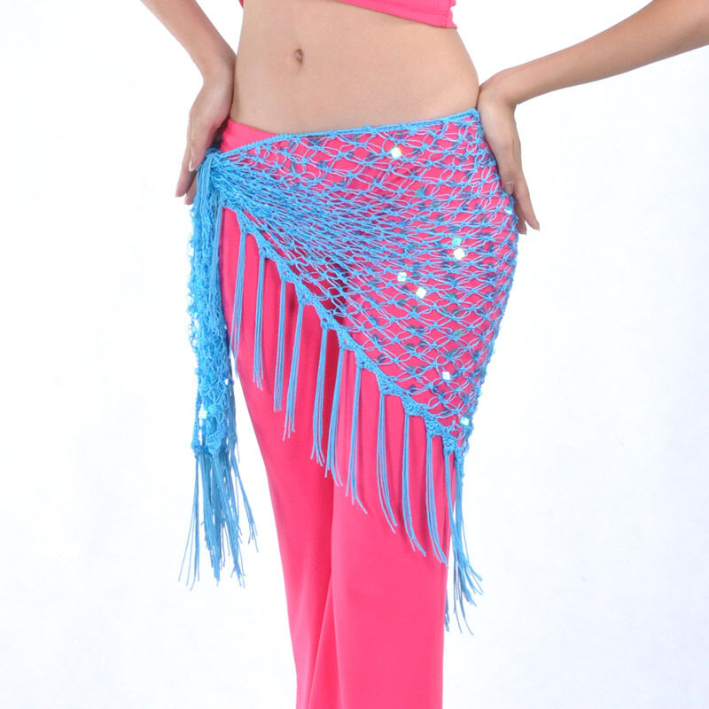 new belly costume hip scarf belt triangle shawl