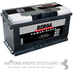 berga autobatterie powerblock 5 12v 100ah 830a h3 ersetzt. Black Bedroom Furniture Sets. Home Design Ideas