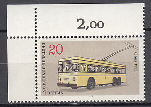 Berlin-1973-Mi-Nr-447-Postfrisch-mit-Eckrand-1-TOP-21152