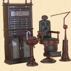 miniature furniture doctor dentist dental medical office set ebay