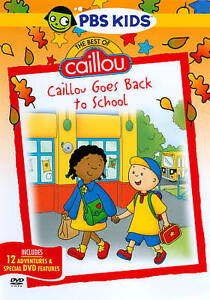 The Best of Caillou: Caillou Goes Back t...