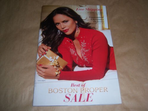Best of Boston Proper Catalog 2012 AMANDA HURAS Women's Fashion & Clothing SEXY! in Books, Catalogs, Clothing & Fashion | eBay