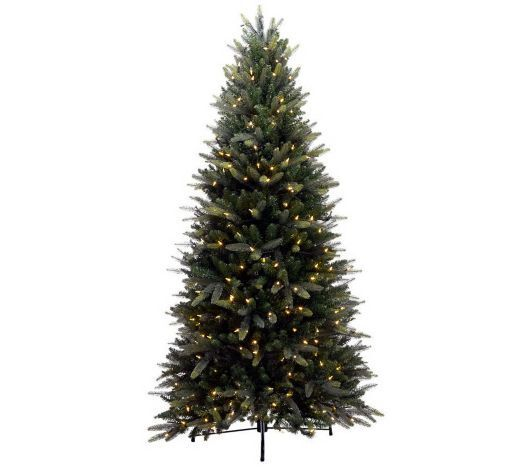 Bethlehem Lights 7.5 Balsam Fir Christmas Tree, LED, Instant Power