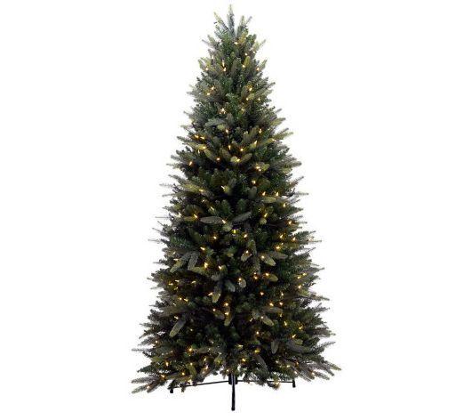 Bethlehem Lights 7.5 Balsam Fir Christmas Tree, LED, Instant Power