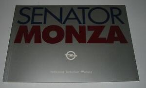 Betriebsanleitung-Opel-Senator-A1-Monza-Bedienung-Wartung-Sicherheit-Mai-1981