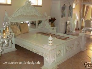 bett antik barock louis xv wei gothikbett k nigsbett. Black Bedroom Furniture Sets. Home Design Ideas