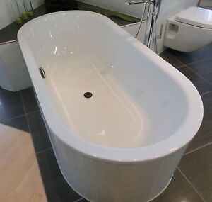 bette starlet flair oval badewanne ovalbadewanne aus stahl wei ebay. Black Bedroom Furniture Sets. Home Design Ideas
