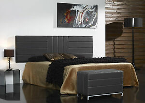 betthaupt polsterkopfteil bettkopfteil bett gepolsterte ebay. Black Bedroom Furniture Sets. Home Design Ideas