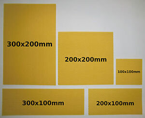 bienenwachsplatten f r kerzen bienenwachs zum kerzenrollen und basteln ebay. Black Bedroom Furniture Sets. Home Design Ideas