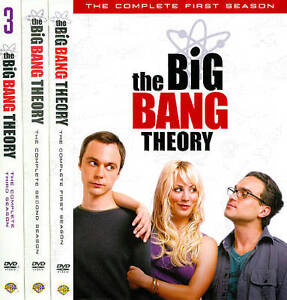 The Big Bang Theory: Seasons 1-3 (DVD, 2...