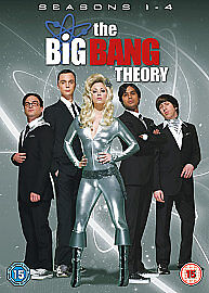 The Big Bang Theory: Seasons 1-4 (DVD, 2...