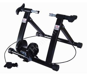 Bike-Bicycle-Cycle-Trainer-Exercise-Fitness-Magnetic-5-Level-Resistance-Indoor