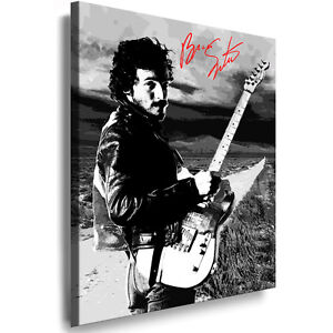 bild leinwand bruce springsteen bilder kunstdrucke keilrahmenbilder kein poster ebay. Black Bedroom Furniture Sets. Home Design Ideas