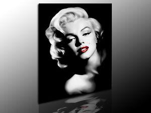 bild auf leinwand marilyn monroe kunstdrucke wandbilder bilder kein poster ebay. Black Bedroom Furniture Sets. Home Design Ideas