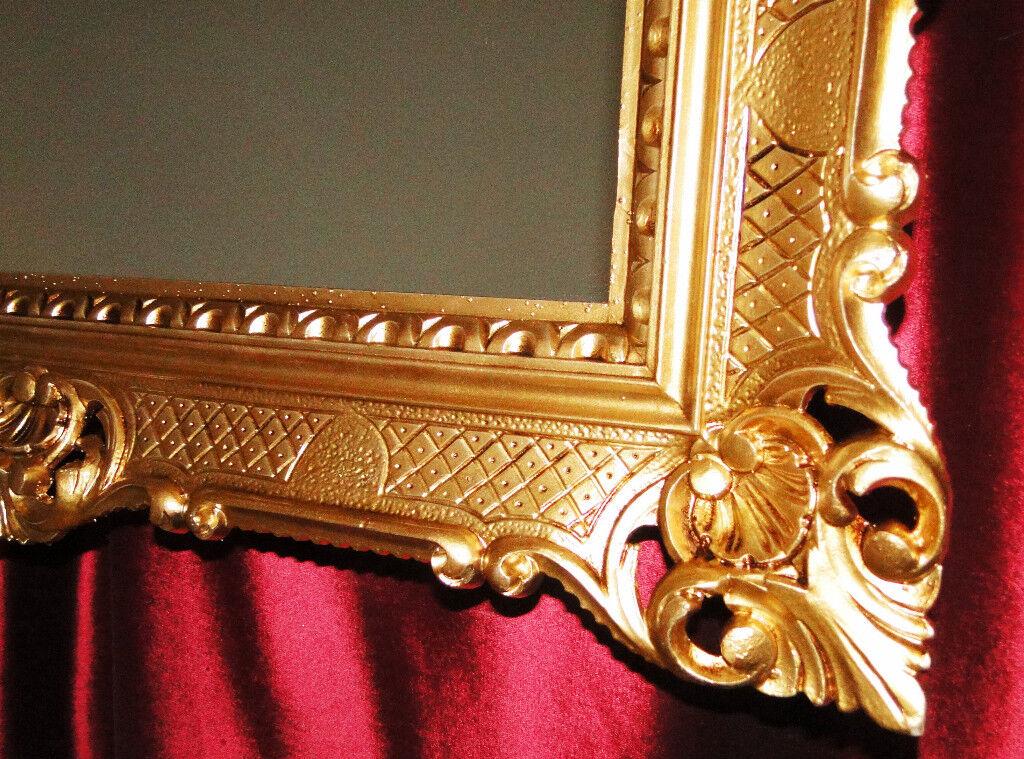 bilderrahmen70x90 rahmen barock rechteckig antik deko gold hochzeitsrahmen 3057 ebay. Black Bedroom Furniture Sets. Home Design Ideas